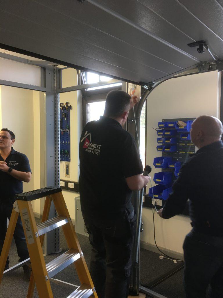 Garador Installation Training Course Barrett Garage Doors