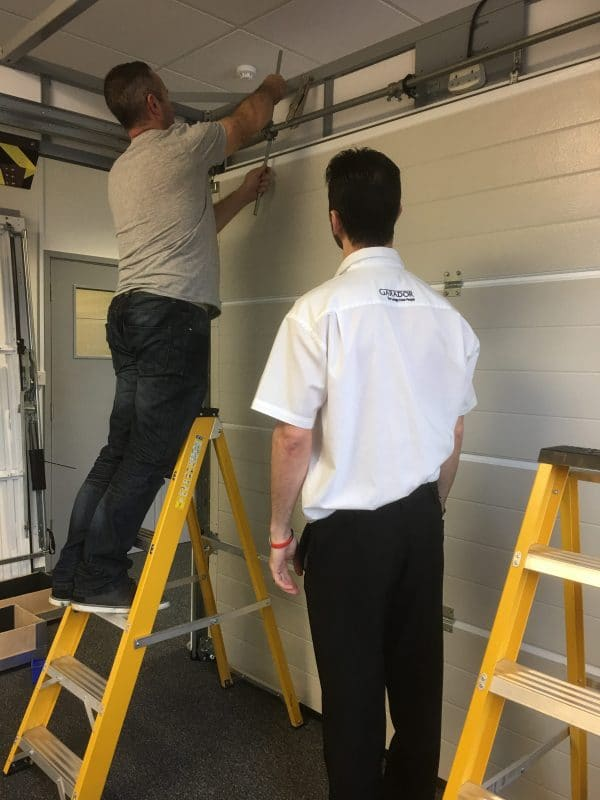 Garage Door Fitting