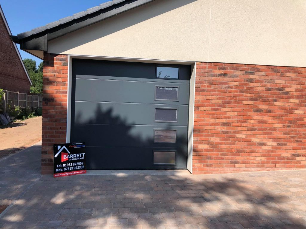 Sectional Alutech Garage Doors Supplied And Installed